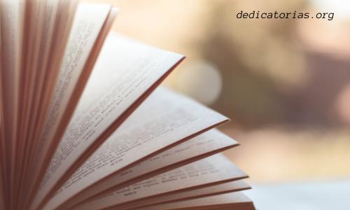 dedicatorias para un libro