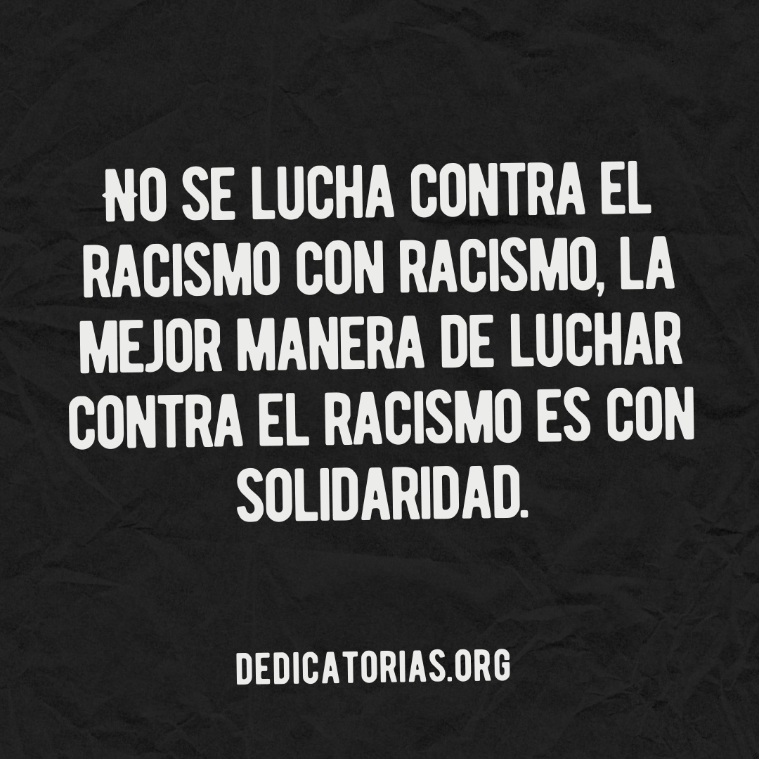 frases antiracistas